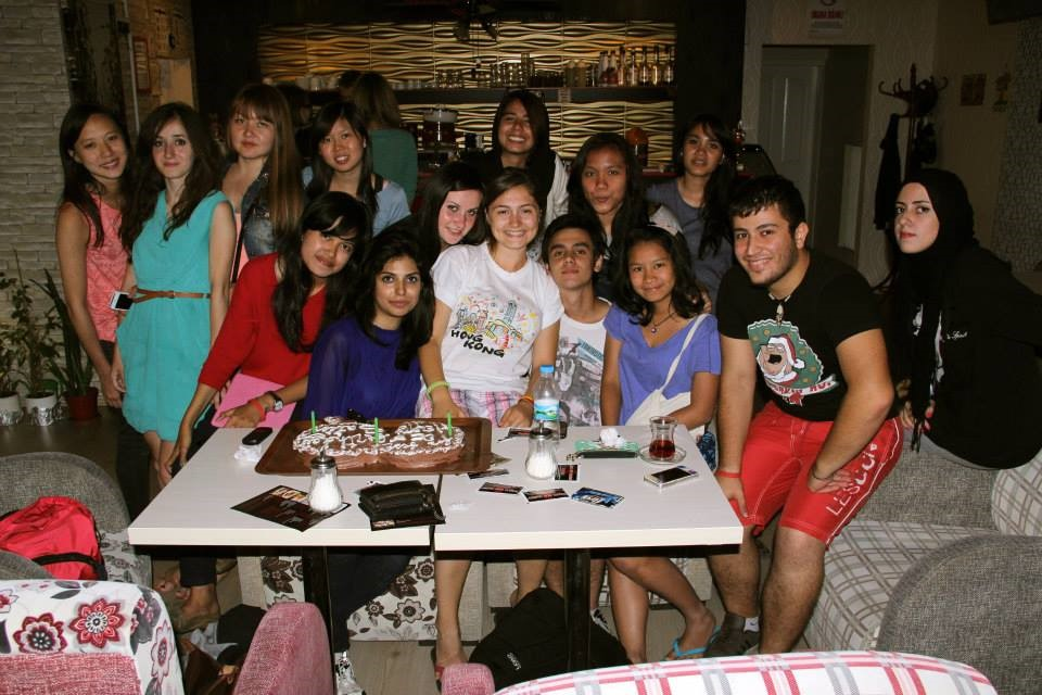 """Birthday with my international friends from """"Break Up the Barriers"""""""