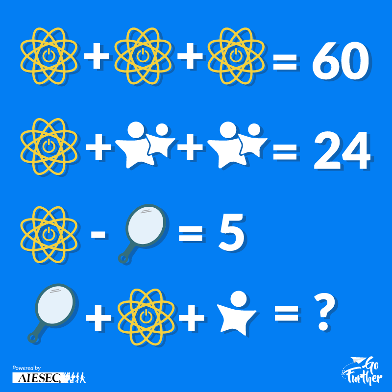 Can you solve this problem? - AIESEC